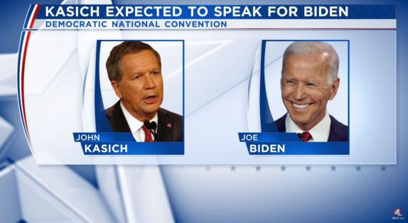 John Kasich Joe Biden