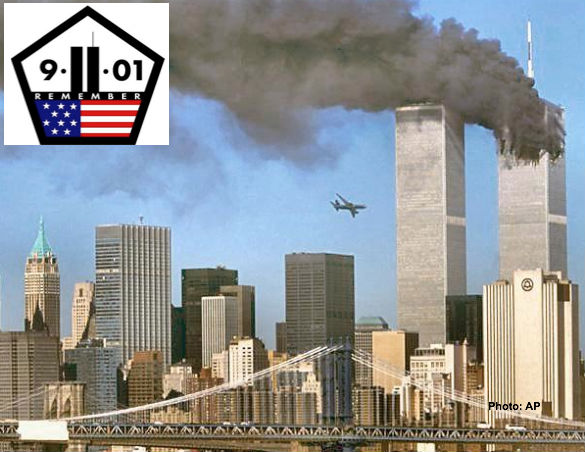 Plane Crashing Into WTC Towers on 9/11