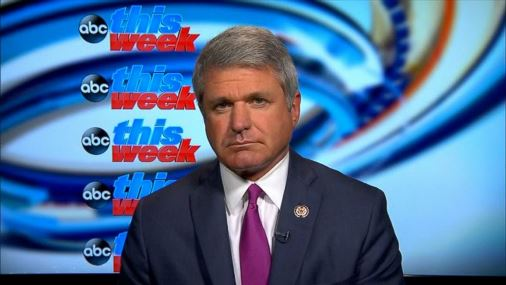 House Homeland Security Committee Chairman Mike McCaul