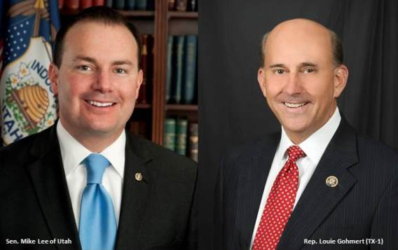Sen. Mike Lee and Rep. Louie Gohmert