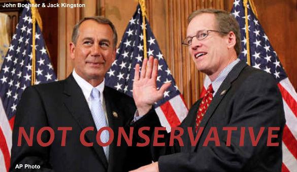 John Boehner & Jack Kingston