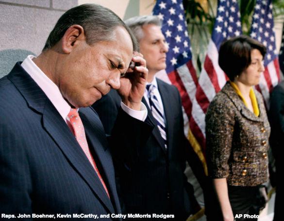 Boehner, McCarthy, McMorris Rodgers