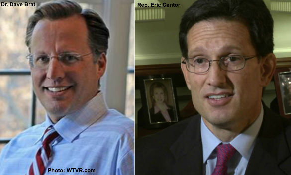 Dave Brat and Eric Cantor