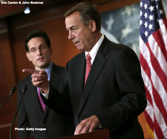 Cantor and Boehner
