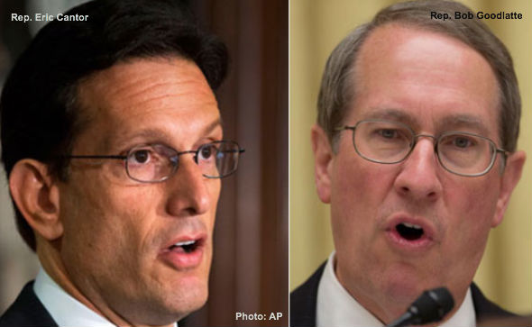 Eric Cantor and Bob Goodlatte