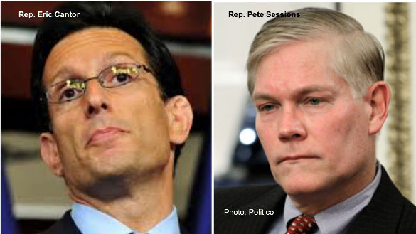 Eric Cantor and Pete Sessions