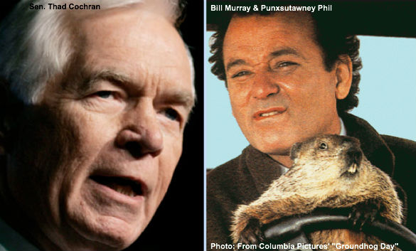 Thad Cochran and Groundhog Day