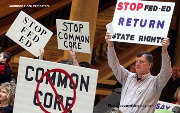 Common Core Protesters