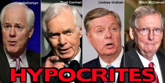 Cornyn, Cochran, Graham, McConnell