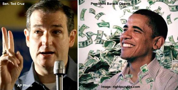 Ted Cruz and Barack Obama
