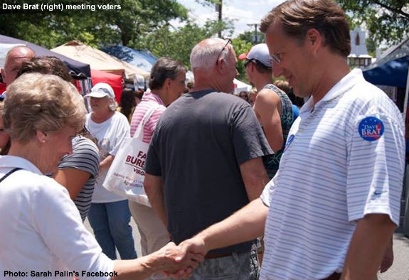 Dave Brat meets with voters