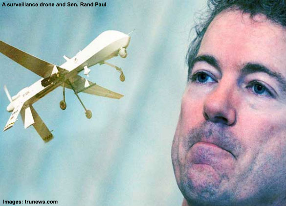 Drone and Rand Paul