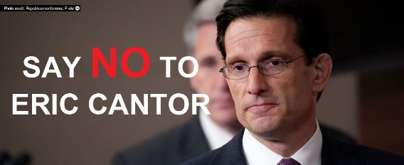 Just Say NO to EricCantor