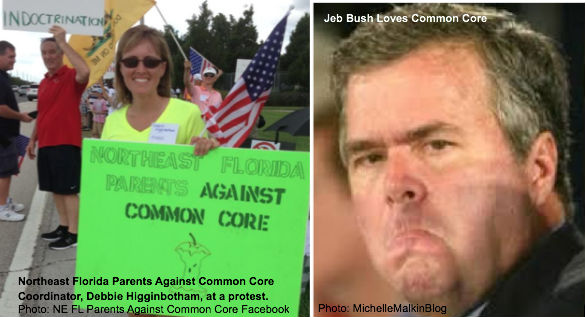 Florida Parents Against for Common Core and Jeb Bush