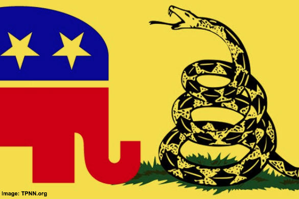 GOP-E versus Tea Party