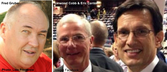 Fred Gruber, Linwood Cobb, and Eric Cantor