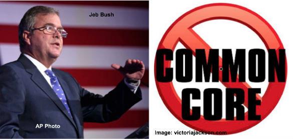 Jeb Bush Supports Common Core