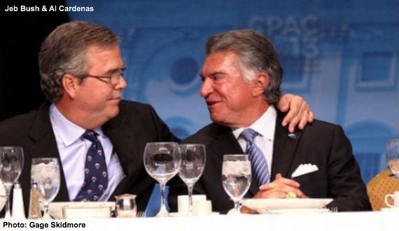 Jeb Bush and Al Cardenas