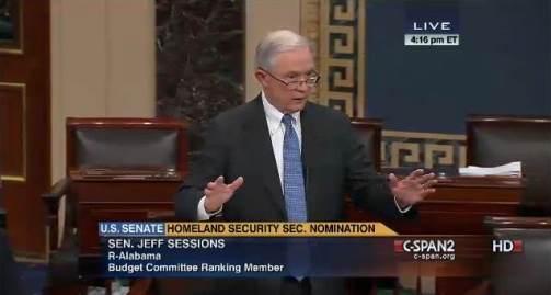 Senator Jeff Sessions Speaks on Senate Floor