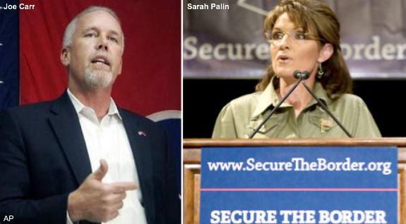 Joe Carr & Sarah Palin