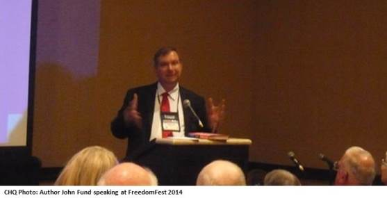 John Fund at FreedomFest 2014