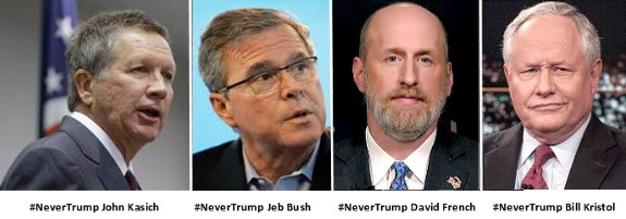 NeverTrumpers Kasich Bush French Kristol