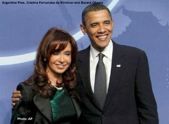 Kirchner and Obama