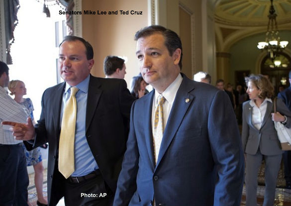 Mike Lee and Ted Cruz