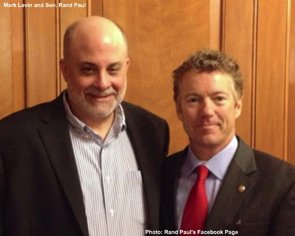 Mark Levin and Rand Paul