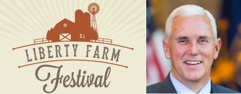Liberty Farm Festival and Mike Pence
