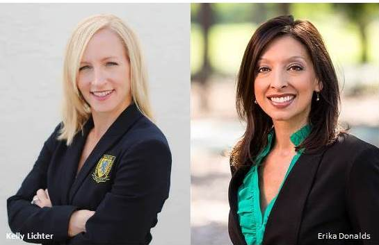 School Board Candidates Kelly Lichter and Erika Donalds
