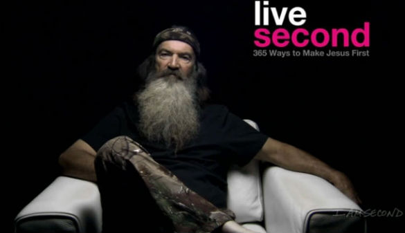 Phil Robertson Joins the I am Second Movement