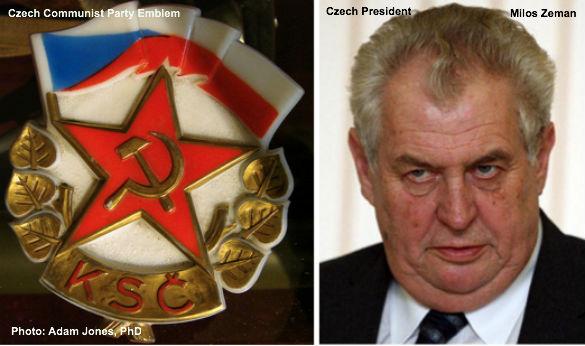 Czech Pres. Milos Zeman