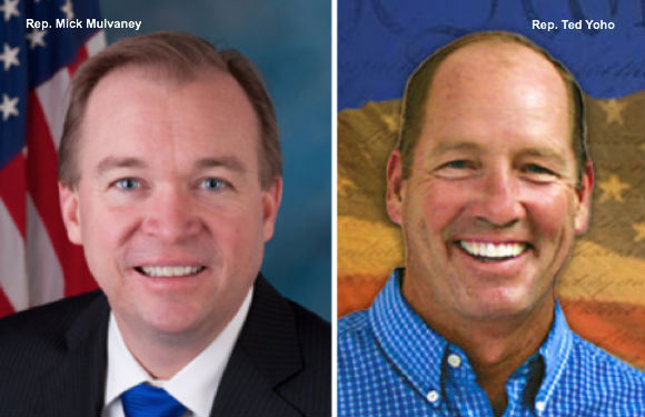 Mick Mulvaney and Ted Yoho