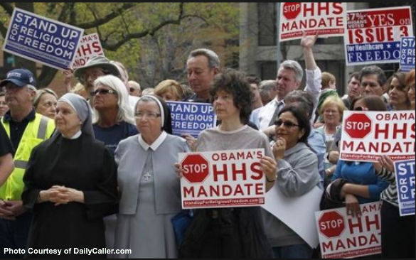 HHS Mandate Protesters