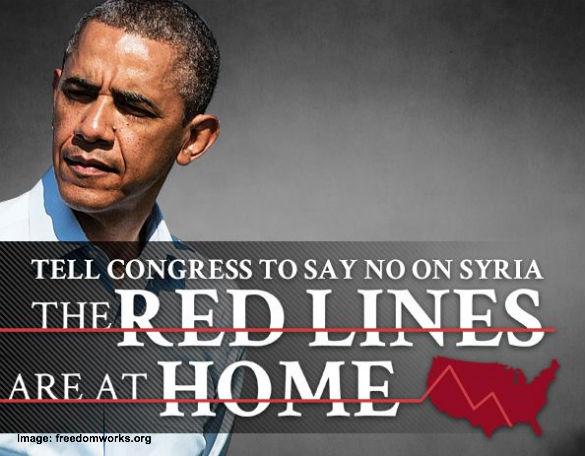 No War in Syria Obama