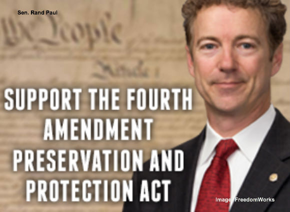 Rand Paul 4th Amendment Restoration Act