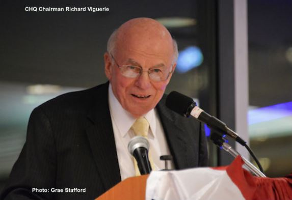 CHQ Chairman Richard A Viguerie