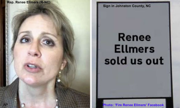 Renee Ellmers Sell Out