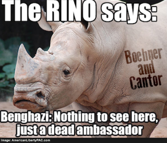 RINOs Give Up on Benghazi
