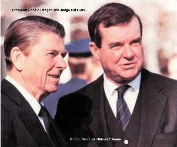 Reagan and Clark