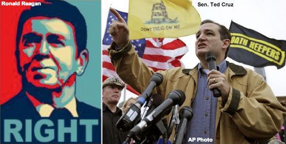 Reagan and Cruz