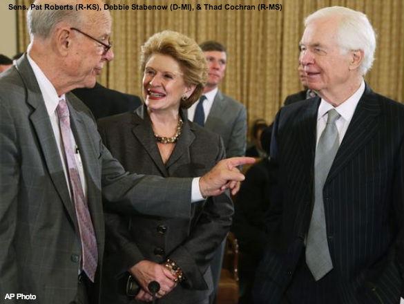Roberts, Stabenow, Cochran