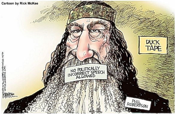 Phil Robertson Cartoon