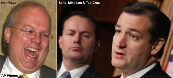 Rove, Lee, and Cruz