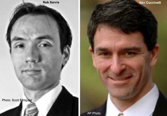 Rob Sarvis, Ken Cuccinelli