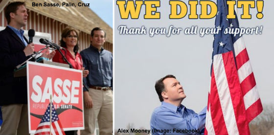 Ben Sasse, Palin, Cruz, Alex Mooney