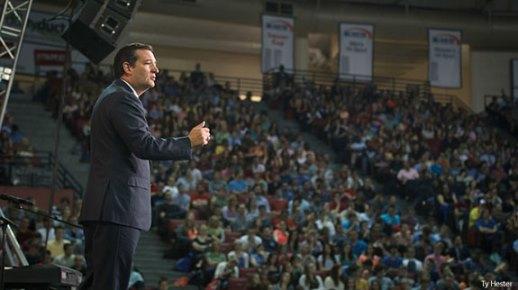 Senator Ted Cruz Speaks At Liberty University