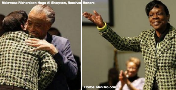 Al Sharpton Hugs Voter Fraud Felon