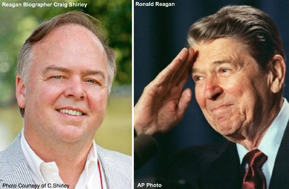 Craig Shirley and Ronald Reagan